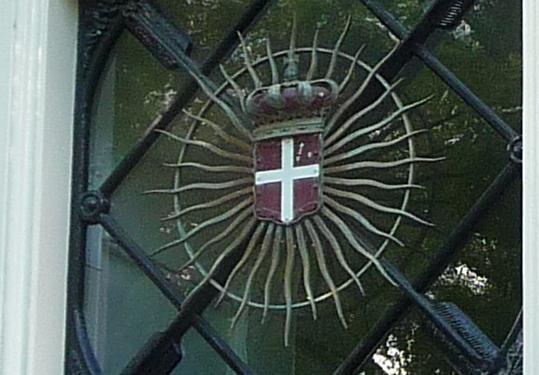 Wapem Orde van Malta op Maltezer Huis, Utrecht